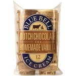 Blue Bell Dutch Chocolate & Homemade Vanilla Flavored Ice Cream Cups