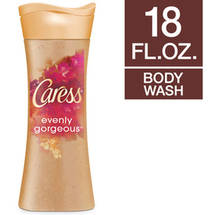 Caress Evenly Gorgeous Exfoliating Beauty Burnt Brown Sugar And Karite Butter Body Wash