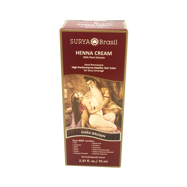 Surya Brasil Dark Brown Henna Cream