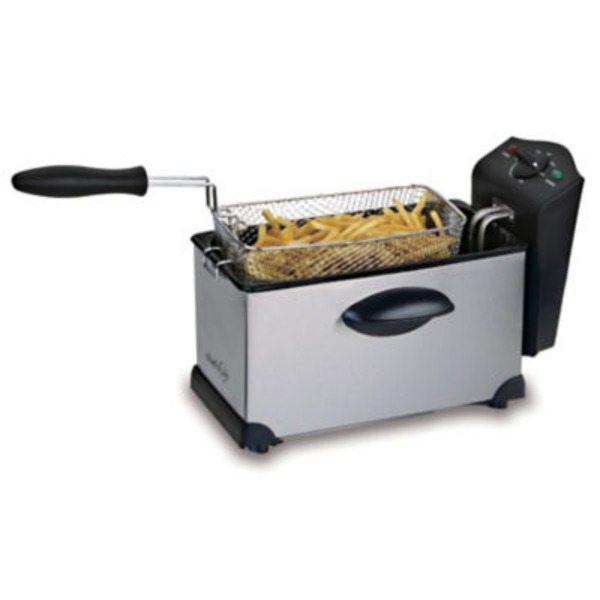 Chef Style Stainless Steel Deep Fryer