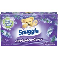 Snuggle Exhilarations Lavender & Vanilla Orchid Fabric Conditioner Dryer Sheets