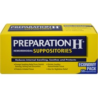 Preparation H Hemorrhoidal Suppositories