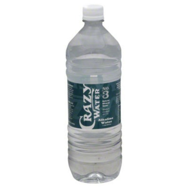 Crazy Water Water, Alkaline, Natural Mineral, No. 3