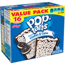 Kellogg's Pop-Tarts Frosted Cookies & Creme Toaster Pastries