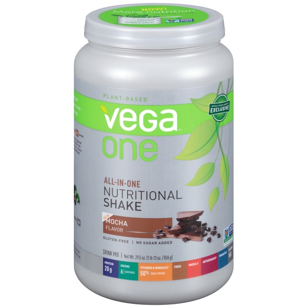 Vega One All-In-One Nutritional Shake Mocha Flavor Drink Mix