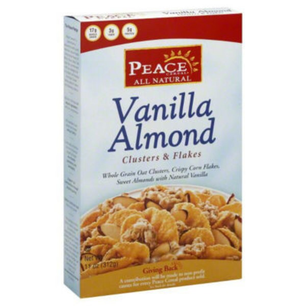 Peace Cereal Vanilla Almond