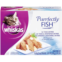 Whiskas Purrfectly Variety Pack
