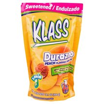 Klass Peach Flavored Drink Mix