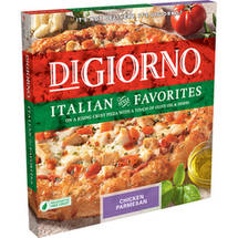 DiGiorno Italian Style Favorites Chicken Parmesan Pizza