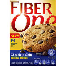 Fiber One Chocolate Chip Crunchy Cookies