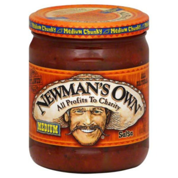 Newman's Own Medium All Natural Chunky Salsa