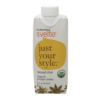 CalNaturale Svelte Just Your Style Spiced Chai Organic Protein Shake