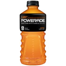 Powerade Orange Liquid Hydration + Energy Sports Drink 32 Fl Oz