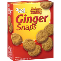 Great Value Ginger Snaps