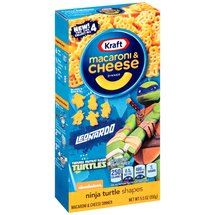 Kraft Phineas & Ferb Shapes Macaroni & Cheese Dinner