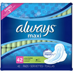 Always Maxi Super Pads with Flexi-Wings (Choose your Count)