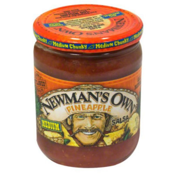 Newman's Own Pineapple Salsa Medium Chunky