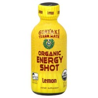 Guayaki Yerbamate Lemon Energy Shot