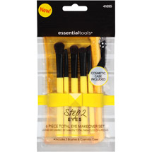 Essential Tools Step 2 Eyes Total Eye Makeover Makeup Brush Set