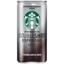 Starbucks Doubleshot Light Espresso & Cream Premium Coffee Drink