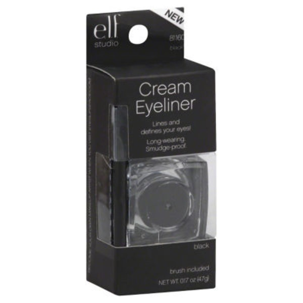 e.l.f. Studio Cream Eyeliner - Black