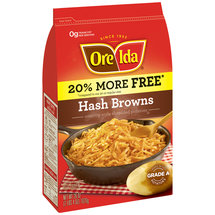 Ore-Ida Hash Browns Country Style Shredded Potatoes