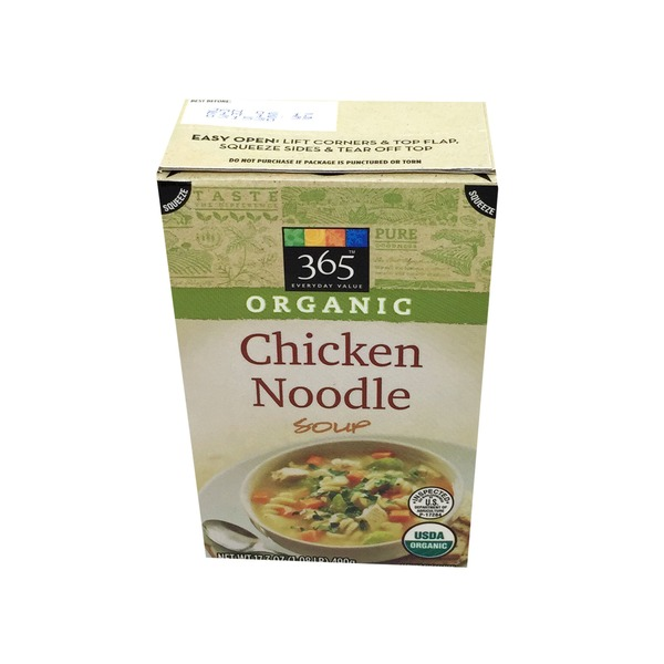 365 Organic Chicken Noodle Soup