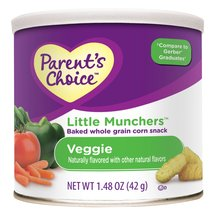 Parent's Choice Little Munchers Veggie Snacks
