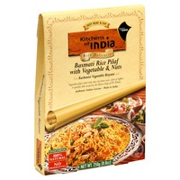 Kitchens of India Basmati Rice Pilaf with Vegetables & Nuts, Vegetarian