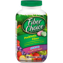 FiberChoice Prebiotic Fiber Chewable Tablets