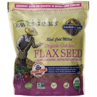 Garden of Life Organic Golden Flax Seed & Raw Organic Antioxidant Fruit