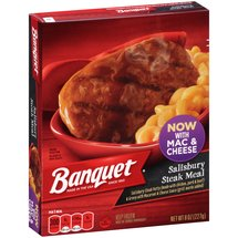 Banquet Salisbury Steak Meal Frozen Entree