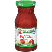 Van De Walle Farms All Natural Picante Sauce Mild