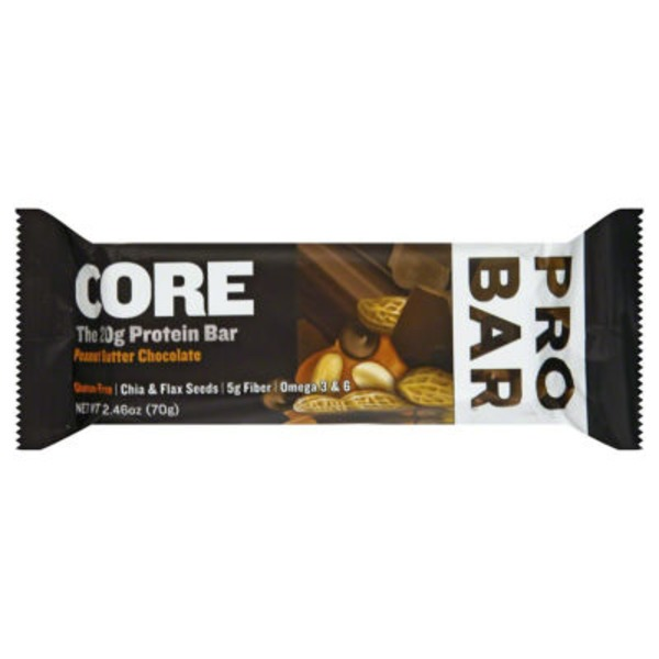 PROBAR Base Gluten Free Peanut Butter Chocolate Protein Bar