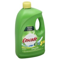 Cascade Gel Dishwasher Detergent, Lemon Scent, 155 Oz