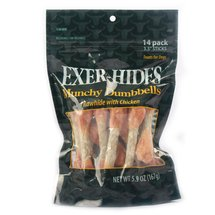 Exer-Hides 3.5 Munchy/Chicken Dumbbells