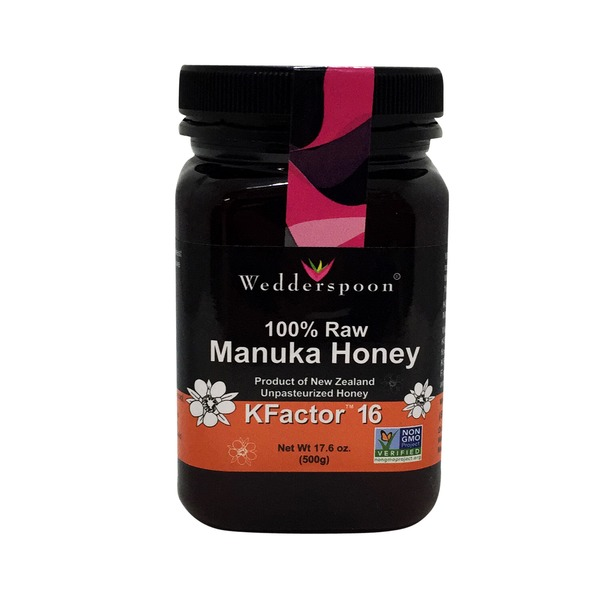 Wedderspoon Honey Manuka Raw Kfactor 16