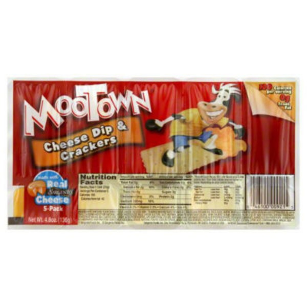 Sargento Mootown Snacks Cheese Dip & Crackers