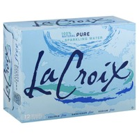 LaCroix Natural Pure Sparkling Water