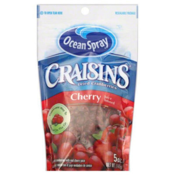Ocean Spray Craisins Cherry Juice Infused Dried Cranberries