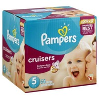 Pampers Cruisers Size 5 Super Pack Diapers