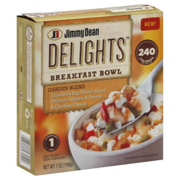 Jimmy Dean Delights, Veggie Bowl