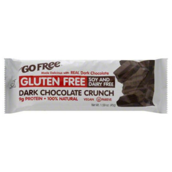 NuGo Dark Chocolate Crunch Protein Bar