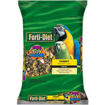 FORTI-DIET Parrot Food with Toy
