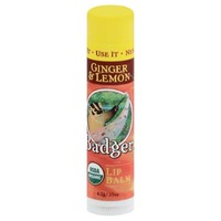 Badger Ginger & Lemon Lip Balm