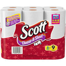 Scott Mega Roll Towels