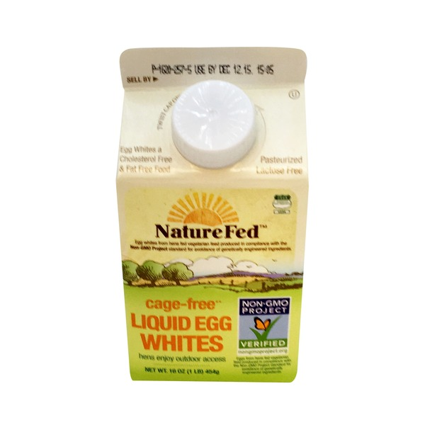 NatureFed Cage Free Liquid Egg Whites