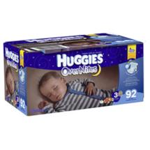 Huggies Super Pack OverNites Diapers Size 3