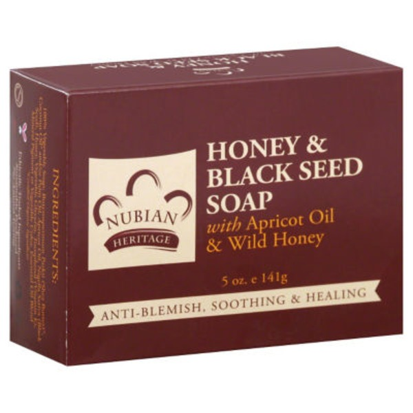 Nubian Heritage Honey & Black Seed Soa with Apricot Oil