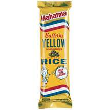Mahatma w/Saffron Yellow Seasonings Rice